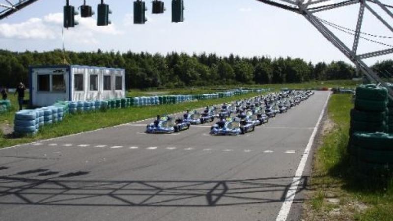 Kick off your stag do in Munich with go karts!