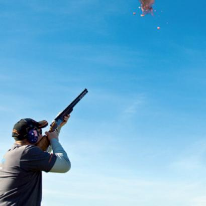 Clay Shooting is a top activity for your stag weekend