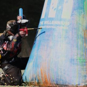 Don't lose focus when paintballing during your stag weekend