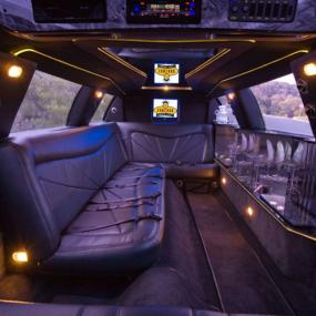 Enjoy ride in a luxurious limo